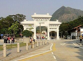 Tian Tan Buddha - Entrance of Tian Tan Buddha