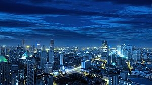 National Central City - Image: Tianjin Skyline 2009 Sep 11 by Nangua 2