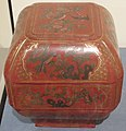 Tiered box, Okinawa, early 18th century, lacquer, Honolulu Museum of Art .JPG