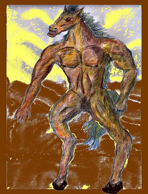 Tikbalang - Image: Tikbalang The Philippine Demon Horse Commons
