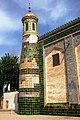 Tiled minaret at Afag Khoja's mausoleum. Kashgar.jpg