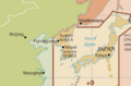 Time zone around Korean peninsula (before 2015-08-15 0030 (UTC+0900)).png