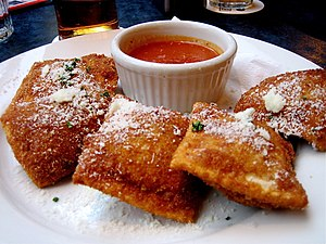 St. Louis cuisine - Toasted ravioli, from The Hill