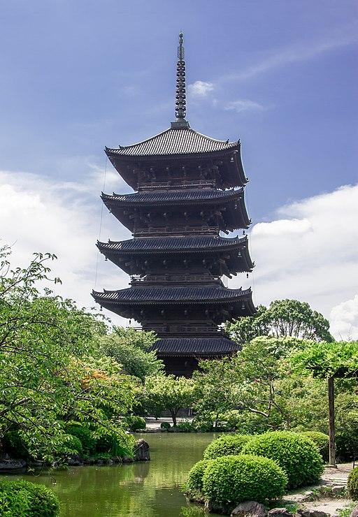 Toji - Five-storied Pagoda