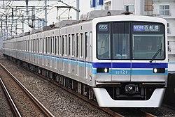 Tokyo Metro 05 Series No.21 Gyotoku Sta.jpg