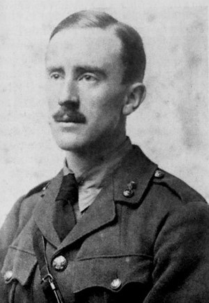1916 in literature - 2/Lt J. R. R. Tolkien in 1916