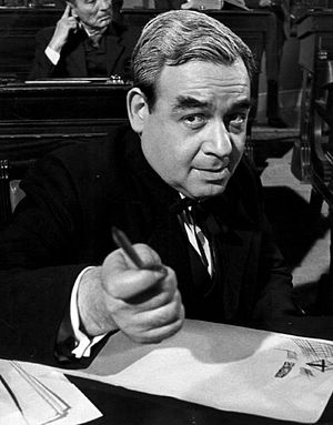 Tom Bosley - Bosley as George W. Norris in the television anthology Profiles in Courage, 1965
