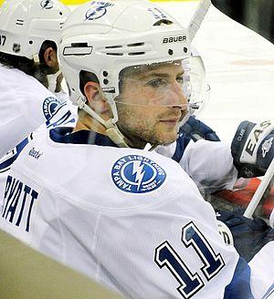 Tom Pyatt - Pyatt with the Lightning in 2012