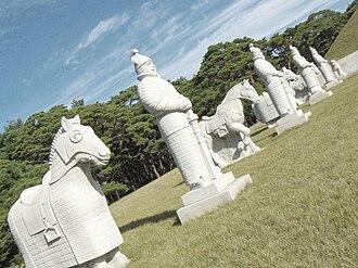 Tomb of King Tongmyong - Image: Tomb of King Tongmyong, Pyongyang