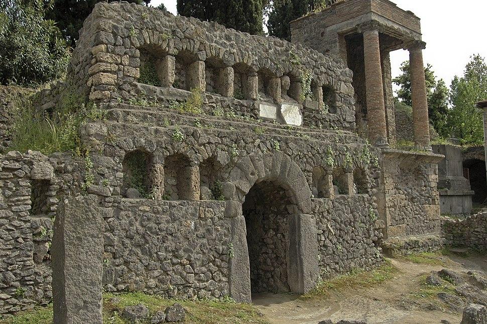 Tomb of the Flavii, Pompeii
