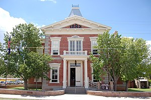 Tombstone Courthouse State Historic Park - Former Cochise County Courthouse, now site of Tombstone Courthouse State Historic Park