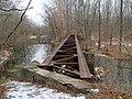 Top of Middletown Branch bridge, December 2016.JPG