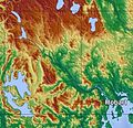 Topography of Tasmania Derwent.jpg