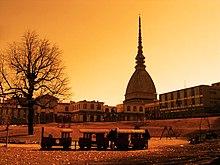 Photographie du Mole Antonelliana à Turin