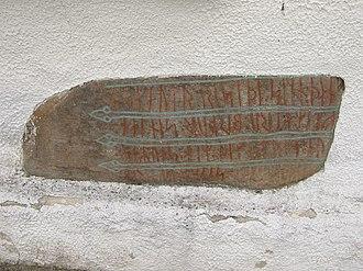 Hällestad Runestones - DR 296.