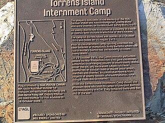 Torrens Island Concentration Camp - E