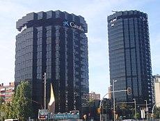 Torres la caixa wikipedia la enciclopedia libre for Avenida diagonal 621