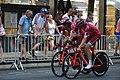 Tour d'Espagne - stage 1 - entrainement Katusha.jpg