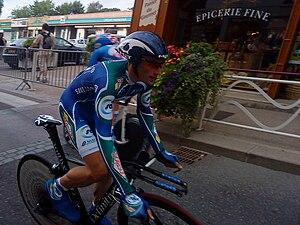 Jonathan Hivert - Hivert at the 2010 Tour de l'Ain