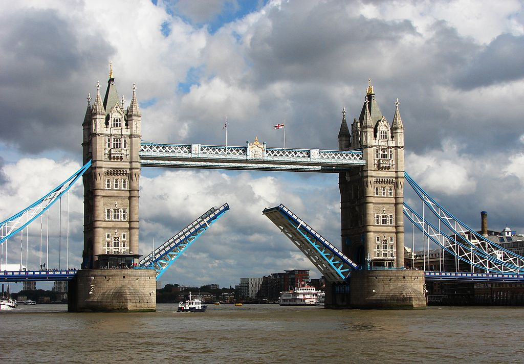 Tower Bridge,London Getting Opened 5