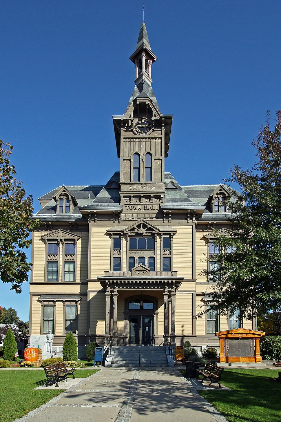 Town Hall front view