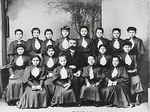 Single-sex education - Girls' school in Trebizond (modern Trabzon), early 20th century