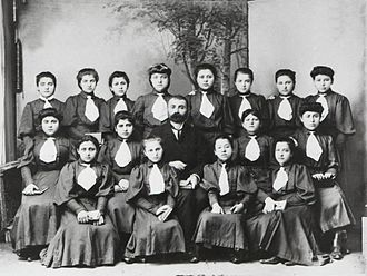 Single-sex education - Girls' school in Trebizond (modern Trabzon), early 20th century