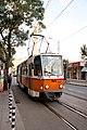 Tram in Sofia mear Macedonia place 2012 PD 005.jpg