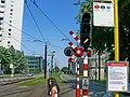 Tramway de Gand - Signalisation de PN @ Rabot².jpg