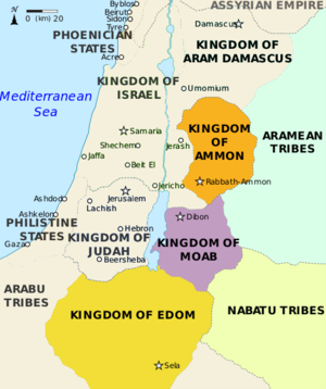Transjordan in the Bible