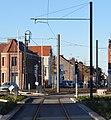 Travaux de la branche vers Vieux-Condé de la ligne B du tramway de Valenciennes en décembre 2013 (263).JPG