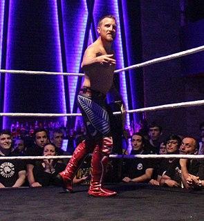 Travis Banks New Zealand professional wrestler