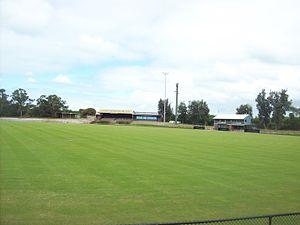 Trevor Barker Oval - Image: Trevor Barker Beach Oval