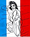 Tricolor (North African Woman) - Print by Bill Lewis.jpg