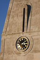 Trinity church clock