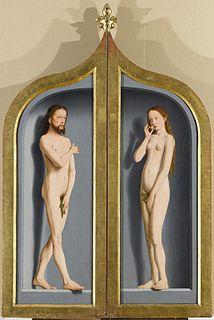 triptych by Gerard David