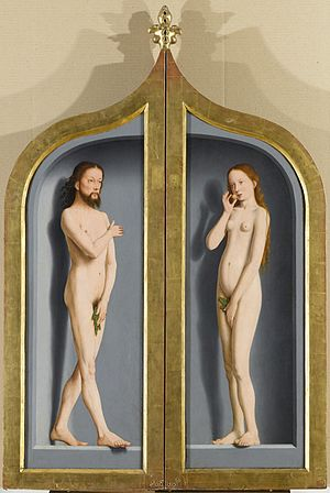 Triptych of the Sedano family - Reverse