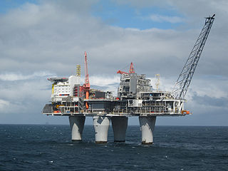 Troll A platform Norwegian oil platform