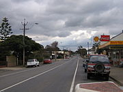 The Sturt Highway through Truro