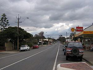 Sturt Highway - Image: Truro Main Street