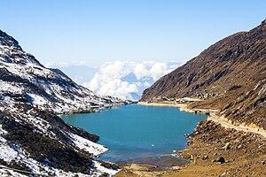 Lake Tsomgo - Image: Tsongmo Lake or Changu Lake East Sikkim