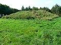 Tumulus, north-east of Avebury - geograph.org.uk - 970714.jpg