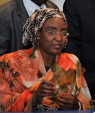 Umaru Musa Yar'Adua - Former First Lady Turai Yar'Adua.