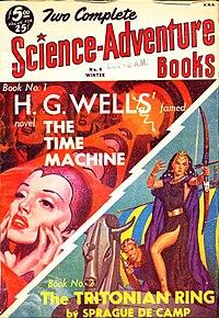 Tidmaskinen återpublicerades i Two Complete Science Adventure Books 1951.