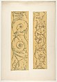 Two designs for decorative borders in strapwork and rinceaux MET DP811459.jpg