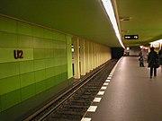 U-Bahn Berlin Bismarckstraße