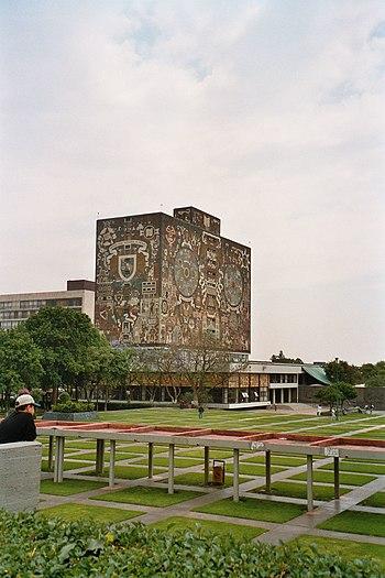 UNAM library