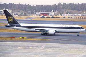 UPS Airlines -  A Boeing 767-300F in Japan