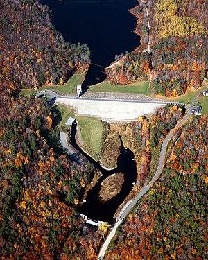 Nubanusit Brook - Edward MacDowell Dam and Lake on the Nubanusit Brook