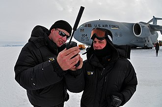 Iridium satellite constellation - Using an Iridium phone in Antarctica